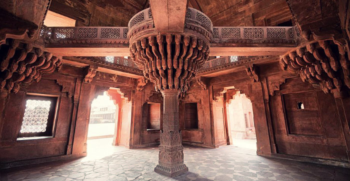 Fatehpur Sikri - The Abandoned Capital of Akbar - Diwan -E- Khash - Agra - The Backpackers Group