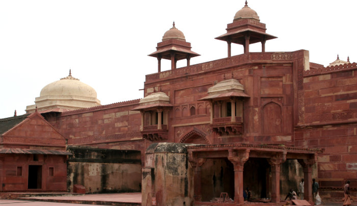 Fatehpur Sikri - The Abandoned Capital of Akbar - Jodhabai Palace - Agra UP - The Backpackers Group.