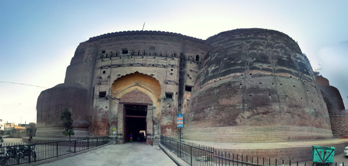 Qila Mubarak - The Harbinger Of India - Fort Entrance - Bhatinda - The Backpackers Group.
